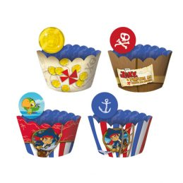 cupcake wrapper Jake e os Piratas