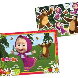 Kit Decorativo Masha e O Urso