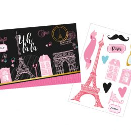Kit decorativo Paris